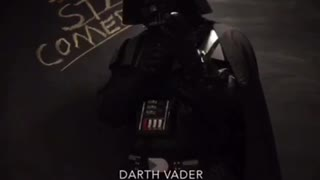 Darth Vader Does Standup Comedy - Video