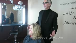 MAKEOVER: Cancer Survivor, by Christopher Hopkins, The Makeover Guy®