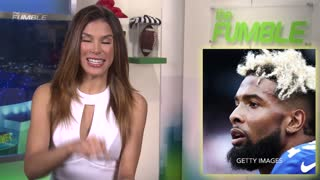 Was Odell Beckham Jr INJURED by a Fan Before Playoff Game vs Packers? - Video