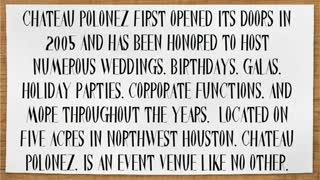 houston wedding venues - Video