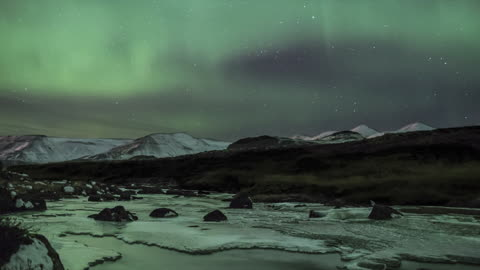 Majestic Timelapse Video Captures Northern Lights In Their Finest Hour