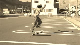 This 12-year-old skateboarder is destined to be a pro - Video
