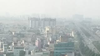 Busy Ho Chi Minh City Morning view - Video