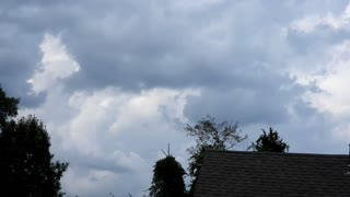 Time-lapse of Storm Clouds