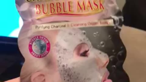 Bubble Face Mask fun