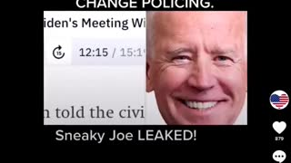 Joe Biden Leaked Audio Call - Defund The Police