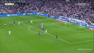 Golazo de Messi (2) vs Real Madrid