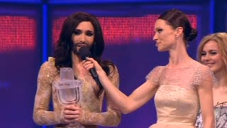 Austria's 'Bearded Lady' Wins Eurovision Song Contest - Video