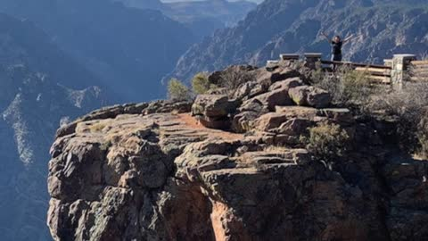 A Spontaneous Visit to Black Canyon of The Gunnison National Park