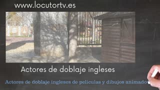 Dubbing. Spanish voice over services