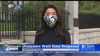 Massachusetts protesters demand governor reopen state