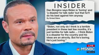 MSNBC analyst attacks Dan Bongino