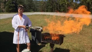 Cookin on the Grill. - Video
