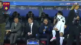 Dani Alves With Lucho - Video