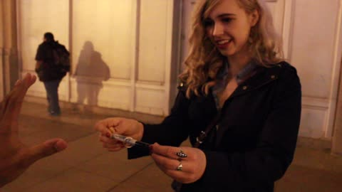 Skilled Magician Uses 'The Force' To Pull A Ring
