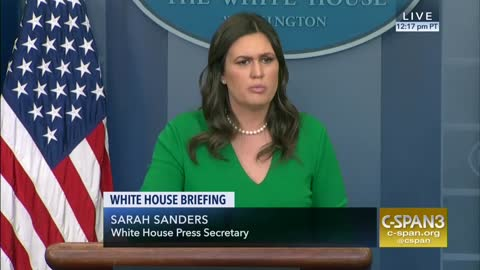 Sarah Sanders Asked About Hillary Clinton Complaints About Not Getting White Women Vote