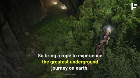 The Secret Underground World of the Hang Son Doong Cave