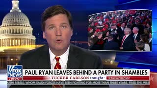 Tucker Carlson unloads on Paul Ryan: 'The rest of us are still stuck here'