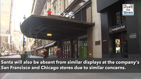 Macy's cancels annual Santa visit to New York flagship over virus, pausing decades-long tradition