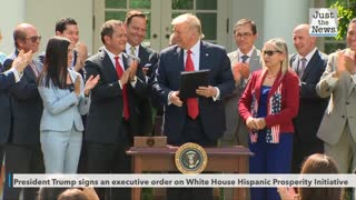 Trump signs EO on Hispanic Prosperity Initiative