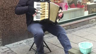 Accordion playing in France