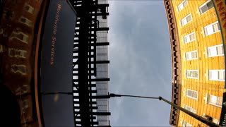 Suction Cup Camera Falls Off Of FTrain - Soon Recovered! - Video