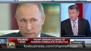 Trump orders expulsion of dozens of Russian diplomats, closure of consulate in Seattle - Video