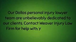 Dallas personal injury lawyer - Video