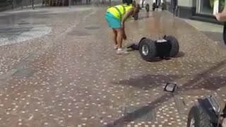 Neon vests segway tour fall - Video