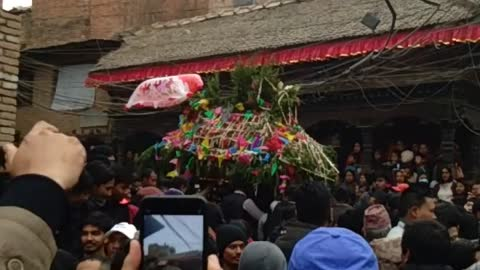 The jatra of kirtipur valley..