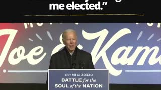Joe Biden doesn't need you to get him elected apparently