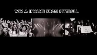 Win a iPhone from Pittbull