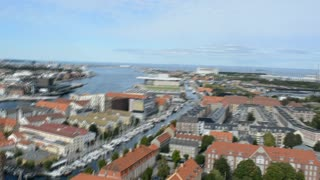 Copenhagen from the Church of Our Saviour - Video