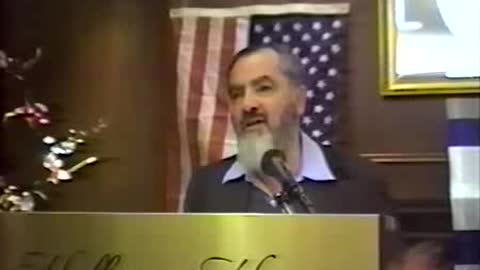 Rabbi Meir Kahane- What is so special about being a Jew- Part 1-3