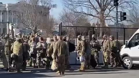 BREAKING: THOUSANDS Of Additional NATIONAL GUARD Arrive At Capitol Today