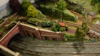 Telford Railway Modellers Group exhibition - Video