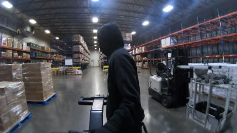 warehouse time lapse