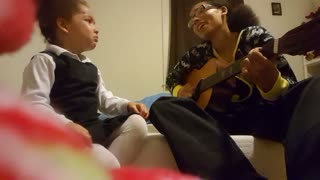 Mom's Heartwarming Song Makes Daughter Cry - Video