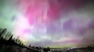 Wonderful Northern lights