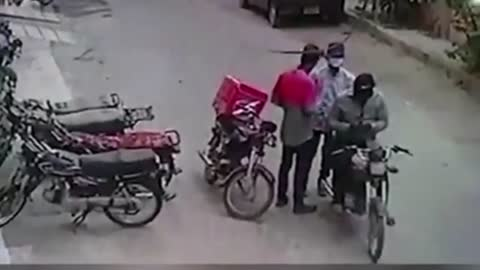 Kind Robbers Hug Victim and Return Valuables After He Breaks Down