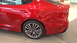New 2018 - Kia Stinger 2,2 DSL - BAT AWD GT - LINE - Video