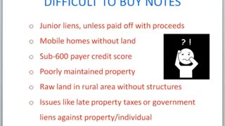 Note buyer - Video