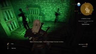 The Witcher 3: A Towerful of Mice part 1 - Video