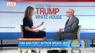 Michael Wolff: '100 Percent' of People Around Trump Questioned His Fitness For Office - Video