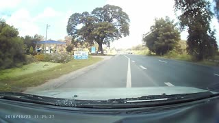 Reckless Motorcycle Crash - Video