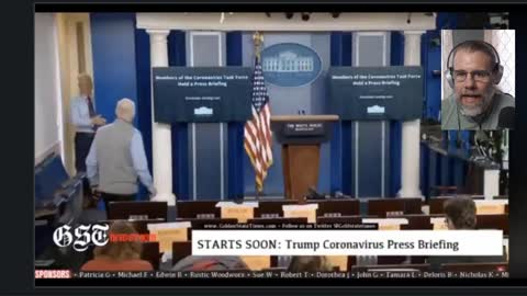 White House Press Corps Caught on Hot Mic 'Take Off the Masks It's a Hoax