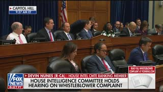Nunes speaks at whistleblower hearing
