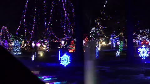 CHRISTMAS LIGHTS Drive-Thru Dec. 25th 2020 Oconto Wisconsin
