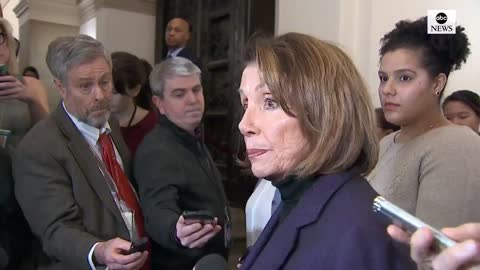 BAD OPTICS! Pelosi Stills Seems To Be Shaken UP Over Bus Incident