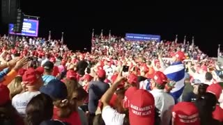 I will Vote for President Trump from the Miami Rally!!